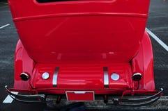 Vue arrière de voiture ancienne Images stock