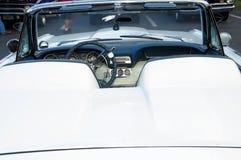 Vue arrière de voiture de sport convertible Images libres de droits
