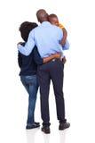 Bébé africain de couples Photographie stock libre de droits