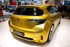 Vue arrière du concept de Lexus LF-Ch Photo stock