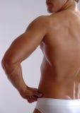 Vue arrière du mâle 3/4 Photos libres de droits