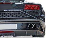 Vue arrière du moteur automatique de luxe moderne élégant attrayant Ca image stock
