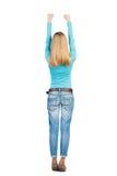 Vue arrière de femme Image libre de droits
