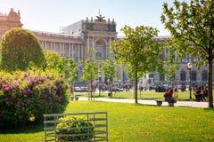 Vue au Burg de Neue à Vienne, Autriche image stock