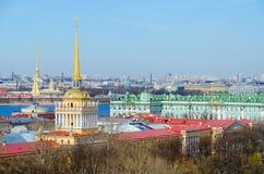 Vue au centre historique de St Petersburg, Russie Photo libre de droits