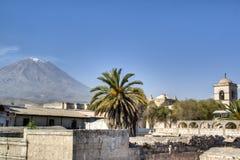 Vue au-dessus d'Arequipa photographie stock libre de droits