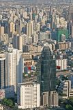 Vue au-dessus de Bangkok Photographie stock libre de droits