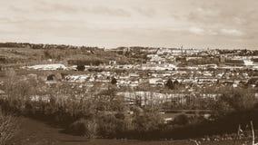 Vue au-dessus de Bristol England photo libre de droits