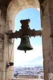 Vue au-dessus de Cadix de beffroi Poniente en Espagne Photos libres de droits