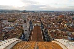 Vue au-dessus de Florence Photos stock