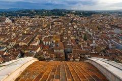 Vue au-dessus de Florence Photos libres de droits