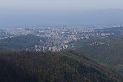 Vue au-dessus de Gênes Images stock