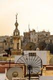 Vue au-dessus de Hama, Syrie photos stock