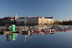 Vue au-dessus de Helsinki Images stock