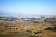 Vue au-dessus de la Syrie Photo stock