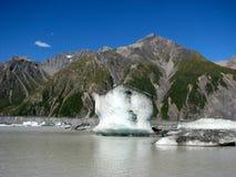 Vue au-dessus de lac glacier Image libre de droits
