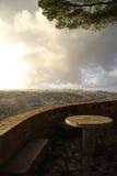 Vue au-dessus de Lisbonne photographie stock libre de droits