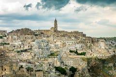 Vue au-dessus de Mantera, Italie Photo stock