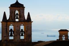 Vue au-dessus de Napoli Photos libres de droits