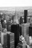 Vue au-dessus de New York City, New York, Etats-Unis photos libres de droits