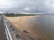 Vue au-dessus de Newcastle vers la ville Photographie stock libre de droits