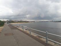 Vue au-dessus de Newcastle vers la ville Photographie stock