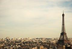 Vue au-dessus de Paris Photographie stock