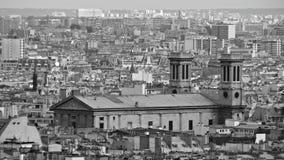 Vue au-dessus de Paris, France Photos libres de droits