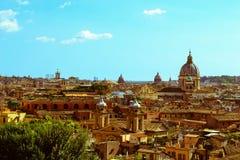 Vue au-dessus de Rome Image libre de droits