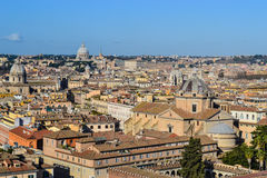 Vue au-dessus de Rome Photos stock
