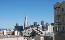 Vue au-dessus de San Francisco Photo stock