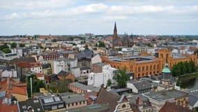 Vue au-dessus de Schwerin Photographie stock