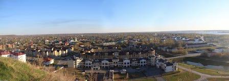 Vue au-dessus de Tobolsk Images libres de droits