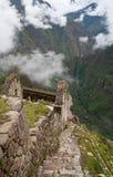 Vue au-dessus de vallée d'Urubamba photos stock