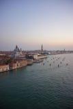 Vue au-dessus de Venise Image stock
