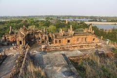 Vue au-dessus de ville antique près de Bangkok en Thaïlande Photo libre de droits