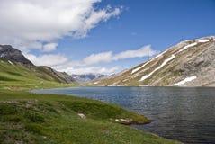 Vue au-dessus des Alpes, Italie Image libre de droits