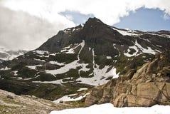 Vue au-dessus des Alpes, Italie Photos libres de droits
