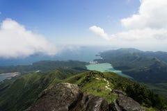Vue au-dessus des nuages Photographie stock libre de droits