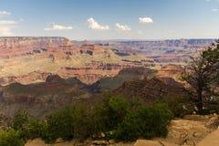 Vue au-dessus du paysage de Grand Canyon, Etats-Unis photo libre de droits