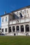 Vue au Galleria Borghese en villa Borghese, Rome, photographie stock