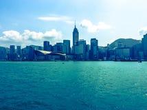 Vue au HK photographie stock