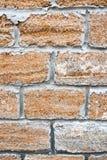 Vue au mur de briques photos libres de droits