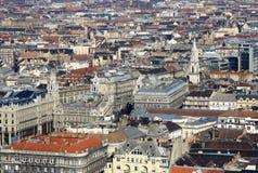 Vue au parasite, Budapest, Hongrie Image stock
