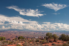 Vue au parc national de Canyonlands Photographie stock