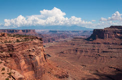 Vue au parc national de Canyonlands Photos stock