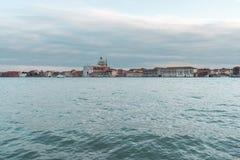 Vue au secteur de Giudecca photo libre de droits