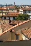 Vue au vecchio de palazzo à Florence images stock