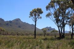 Vue aux gammes de montagne de Grampians dans Victoria, Australie photo stock
