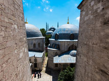 Vue aux mosquées Image libre de droits